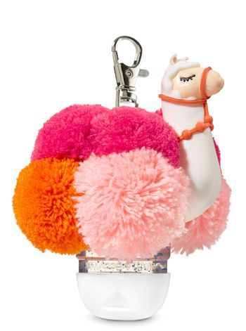 Llama Pom Pocketbac Holder Bath And Body Works Hand Sanitizer