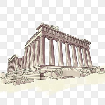 Download Greek Columns Drawing Clipart Ancient Greece Corinthian Column Drawing Easy Hd Png Download Is Free Tran Greece Drawing Greek Columns Greek Drawing