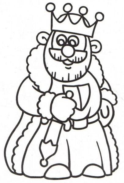 Rey Medieval Para Colorear Rey Para Colorear Reyes Medievales Dibujos De Reyes