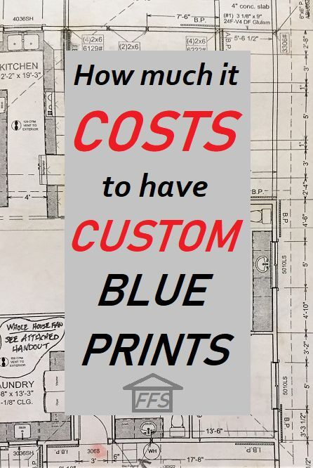 14+ How much do blueprints cost image popular
