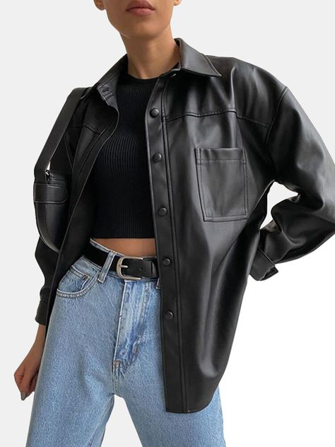 Solid Color Fur Jacket