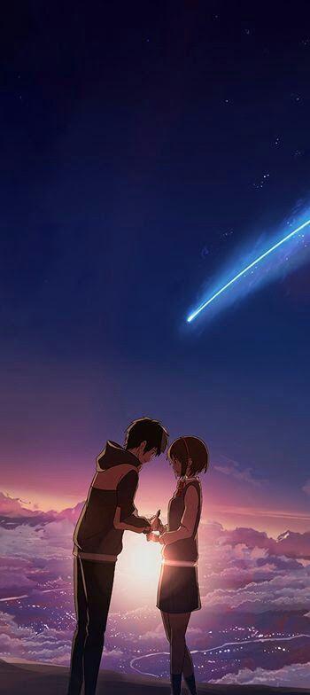 Sabrina Angel Kimi No Na Wa Your Name Anime Anime Romance