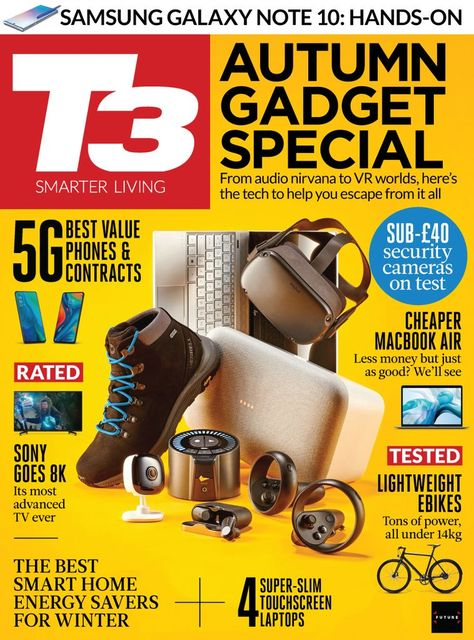 T3 Back Issue October 2019 (Digital)