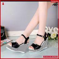 Dfan3130s125 Sepatu Hr06 Wedges 7cm Wanita Sol Tidak Sneakers
