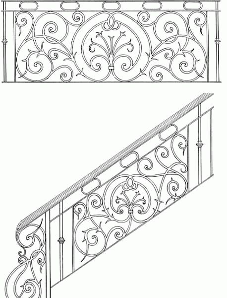 Exterior Metal Stair Handrai Los Angeles 175 Railing Design