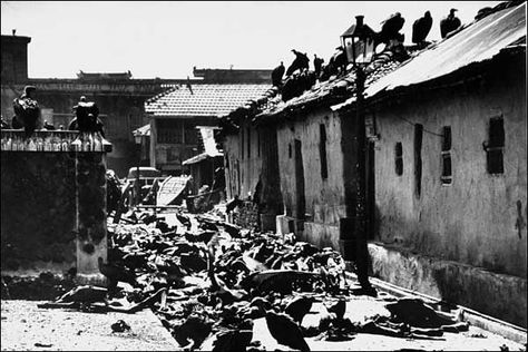 PARTITION OF INDIA-MASSACRE OF HINDUS AND SIKHS BY FANATIC COMMUNAL MUSLIMS IN THE PUNJAB (now pakistan) 1947
