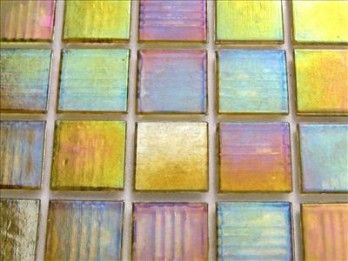 Specialist Crafts 20mm Glass Mosaics Yellow Pack of 225