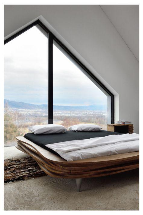 Bett Nordin Designer Bett Schone Schlafzimmer Bett Holz