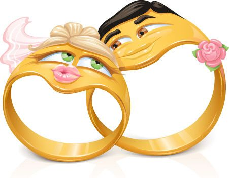 Clear Background Wedding Rings Cartoon In 2020 Wedding Ring Cartoon Wedding Ring Pictures Wedding Ring For Him
