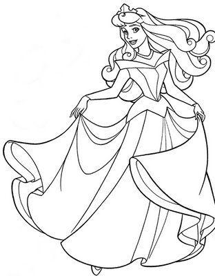 Großzügig Disney Aurora Malvorlagen Bilder - Beispielzusammenfassung ...