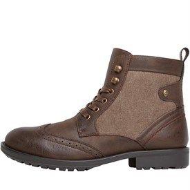Discount Sale Firetrap Tempo Worker Boots Mens Black Online Store