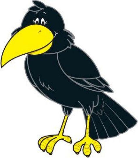 60 mejores imágenes de Cuervos cartoons | Cuervo, Cuervo dibujo ...