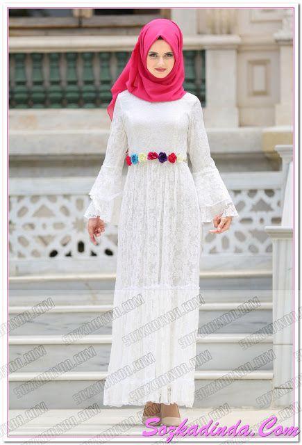 Ucuz Tesettur Elbise Modelleri Ve Fiyatlari Kadin Moda Saglik Orgu Hobi Sozkadinda Com Moda Stilleri Elbise Modelleri Elbise