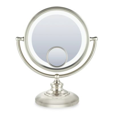 Check Out This Product Https Www Bedbathandbeyond Com Store Product Conair Reg Fluorescent 1x 10x 15x Fluorescent Mir In 2020 Mirror Mirror Table Mirror With Lights