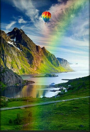 Rainbow View Rainbow Pictures Nature Pictures Beautiful Nature
