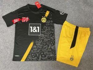 2020 21 Cheap Youth Kit Borussia Dortmund Away Replica Soccer Kids Suit 2020 21 Cheap Youth Kit Borussia Dortmund Away Repli In 2020 Soccer Kits Kids Suits Kids Soccer