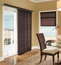 Creative and innovative patio door window treatment ideas window panel treatment for the patio door planetlyrics Image collections