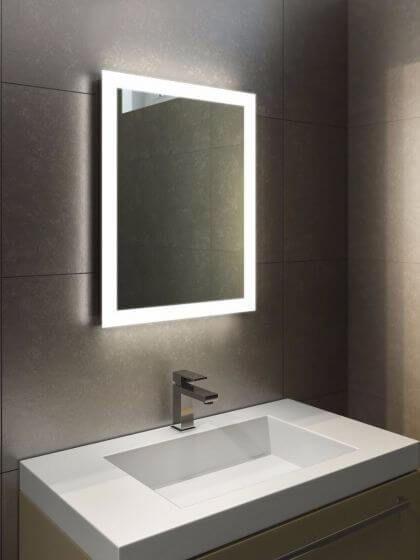 Halo Tall Led Light Bathroom Mirror Bathroom Mirror Design Bathroom Mirror Lights Bathroom Mirror Makeover