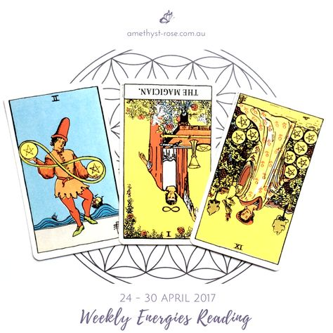 #WeeklyEnergies #WeeklyTarotReading: 24 - 30 April 2017 ~ This week you'll find yourself dealing with some indecision - but when you look closely, you'll see how you've been procrastinating and in the end, the decision will be an easy one to make.  You're feeling challenged of late - it seems that everything you do, ...  Click on the image to read the rest <3 Vanda xx  #TarotReadings #ReadingsWithVanda #IntuitiveReadings #IntuitiveTarot #EmailReadings #WorldwideReadings #HealingWithTheTarot