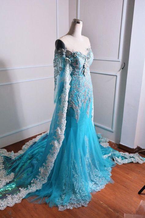Disney Princess Dresses, Disney Dresses, Disney Princess Costumes, Ice Princess Costume, Disney Inspired Dresses, Disney Princess Fashion, Fairytale Dress, Fairy Dress, Cute Prom Dresses