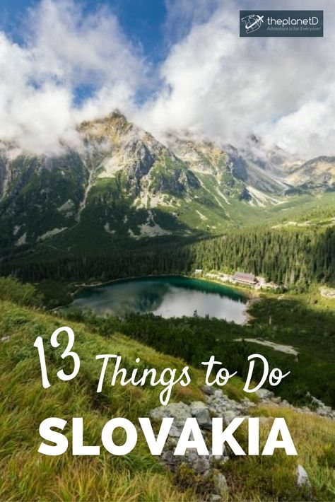 13 of the Best Things to Do in Slovakia: Top Tips for Your Trip!   Blog by The Planet D: Canada's Adventure Travel Couple