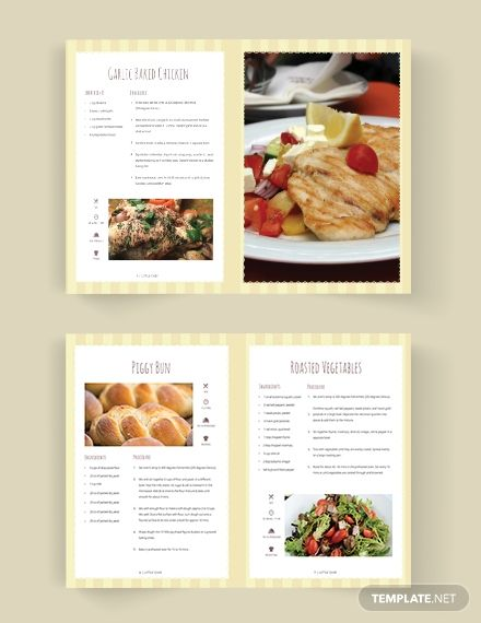Kid Cookbook Template Word Psd Indesign Apple Pages Publisher Cookbook Template Kids Cookbook Make Your Own Cookbook