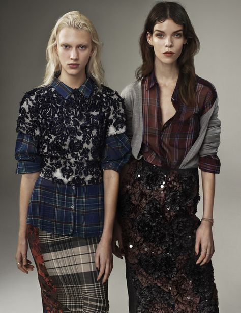 Grunge Muses : Vogue UK March 2013