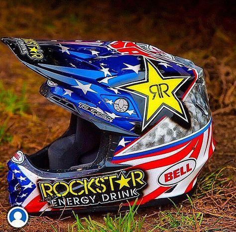 Jeremy Martin's 2014 MXoN Bell helmet | Flickr - Photo Sharing! Yamaha Motocross, Motorcross Bike, Motocross Helmets, Racing Helmets, Dirt Bike Helmets, Dirt Bike Gear, Dirt Bike Racing, Cool Dirt Bikes, Mx Bikes