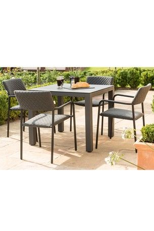 Seater Dining Set By Maze Rattan