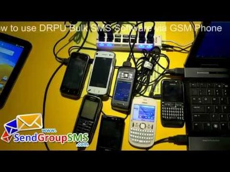 Procedure to send dynamic and personalized SMS using GSM phone with