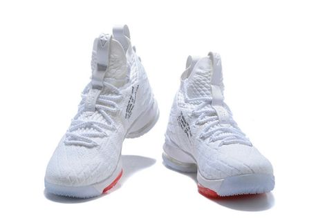 new product f0ecb 09d2b Purchase Basketball Shoes OFF-WHITE x Nike James 15 XV White Red Nike  LeBron 15 Wholesale