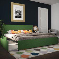 Kelly Upholstered Storage Platform Bed Bed Storage Upholstered Beds Home Decor