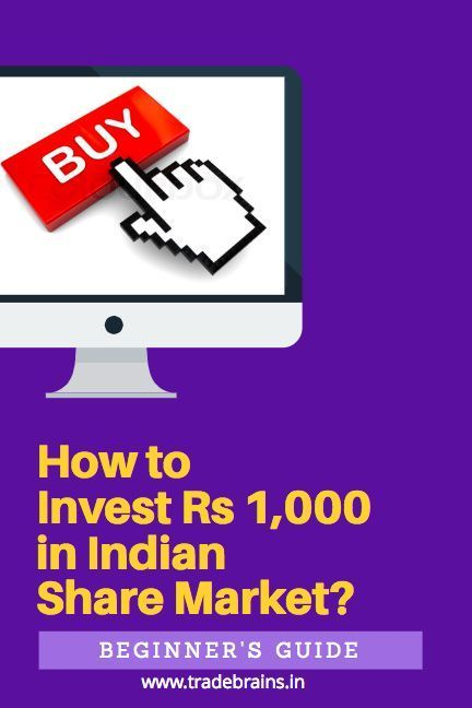 How To Invest Your First Rs 1 000 In The Stock Market Stock