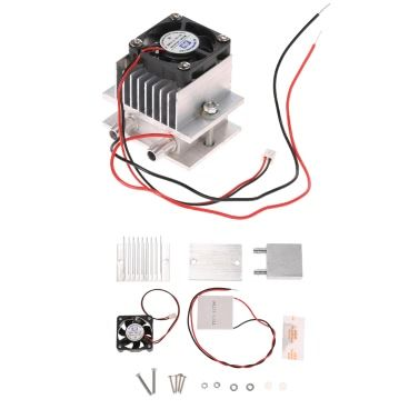 Diy Kit Thermoelectric Peltier Cooler Refrigeration Cooling System