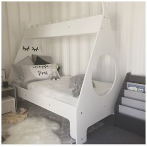 Details About New Single Tee Pee Bed Quality Australian Made