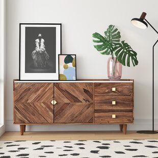 Modern Sideboards Buffets Allmodern In 2020 Hearth Room