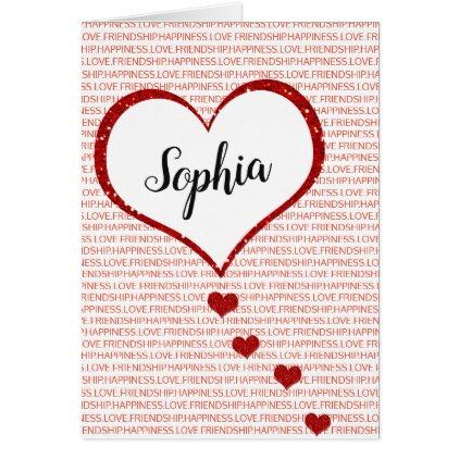 Happy Valentine S Day Custom Name Holiday Card Zazzle Com Custom Holiday Card Happy Valentines Day Holiday Design Card