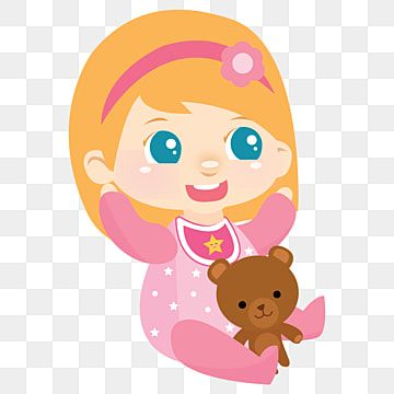 Pink Baby Girl Baby Clipart Babyelement Sweetbaby Png And Vector With Transparent Background For Free Download In 2021 Baby Girl Clipart Baby Cartoon Baby Stickers Background untuk bayi perempuan hd