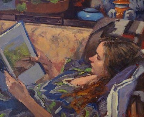 George Van Hook (EUA, 1954) óleo sobre tela, 51 x 61 cm George Van Hook