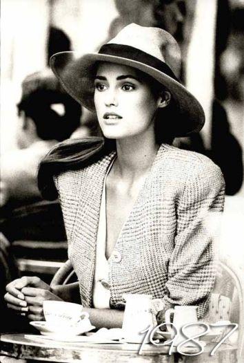 shot for US Vogue December 1987 - photographer Peter Lindbergh