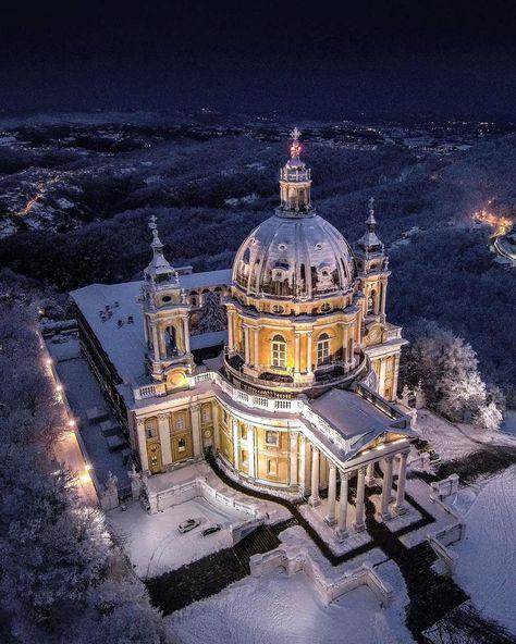 igersitalia La basilica di Superga...