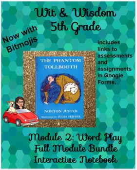 Wit Wisdom 5th Grade Mod 1 All Lessons With Bitmojis Distance Learning Wit Wisdom Learning Distance Learning