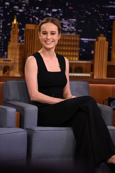 Brie Larson visits 'The Tonight Show Starring Jimmy Fallon.'