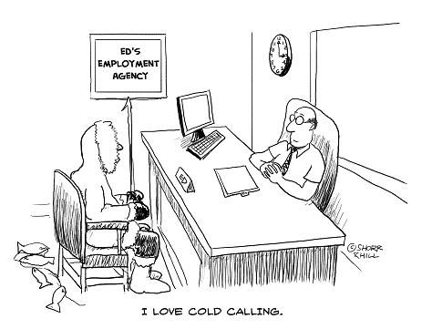 I love cold calling - cold calling resume