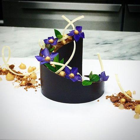 Plated dessert by Julien Degraeve