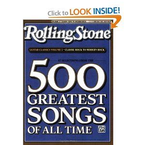 Title Selections From Rolling Stone Magazine S 500 Greatest Songs