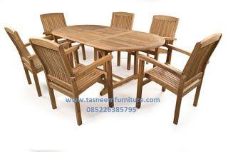 Tasneem Furnitures Furniture Kayu Jati Meja Makan Meja Makan Furniture Kayu Jati