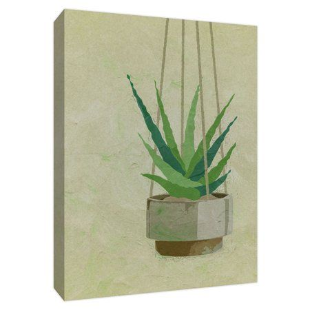 Ptm Images Hanging Plant 16x20 Wall Art Walmart Com In 2021 Plant Painting Painting Frames Painting Prints