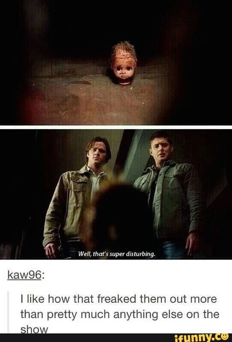 That thing freaks me out then anything else on the show, I hated that episode but at the same time loved it because, well it WAS a Supernatural episode Castiel, Supernatural Fans, Supernatural Wallpaper, Supernatural Tattoo, Supernatural Pictures, Sam Winchester, Winchester Brothers, Dean Winchester Quotes, Impala 67