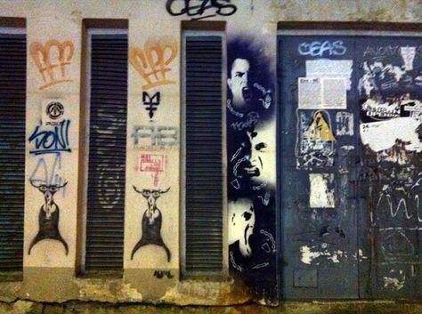 Street Art en Miera iela -  Riga